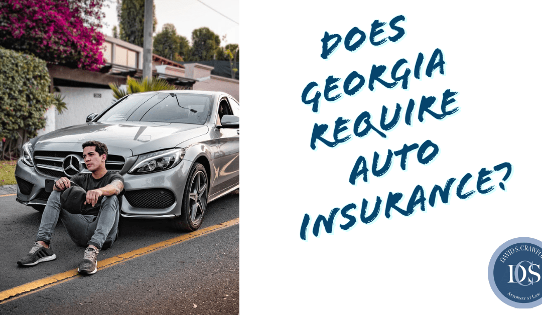 Does Georgia require auto insurance?
